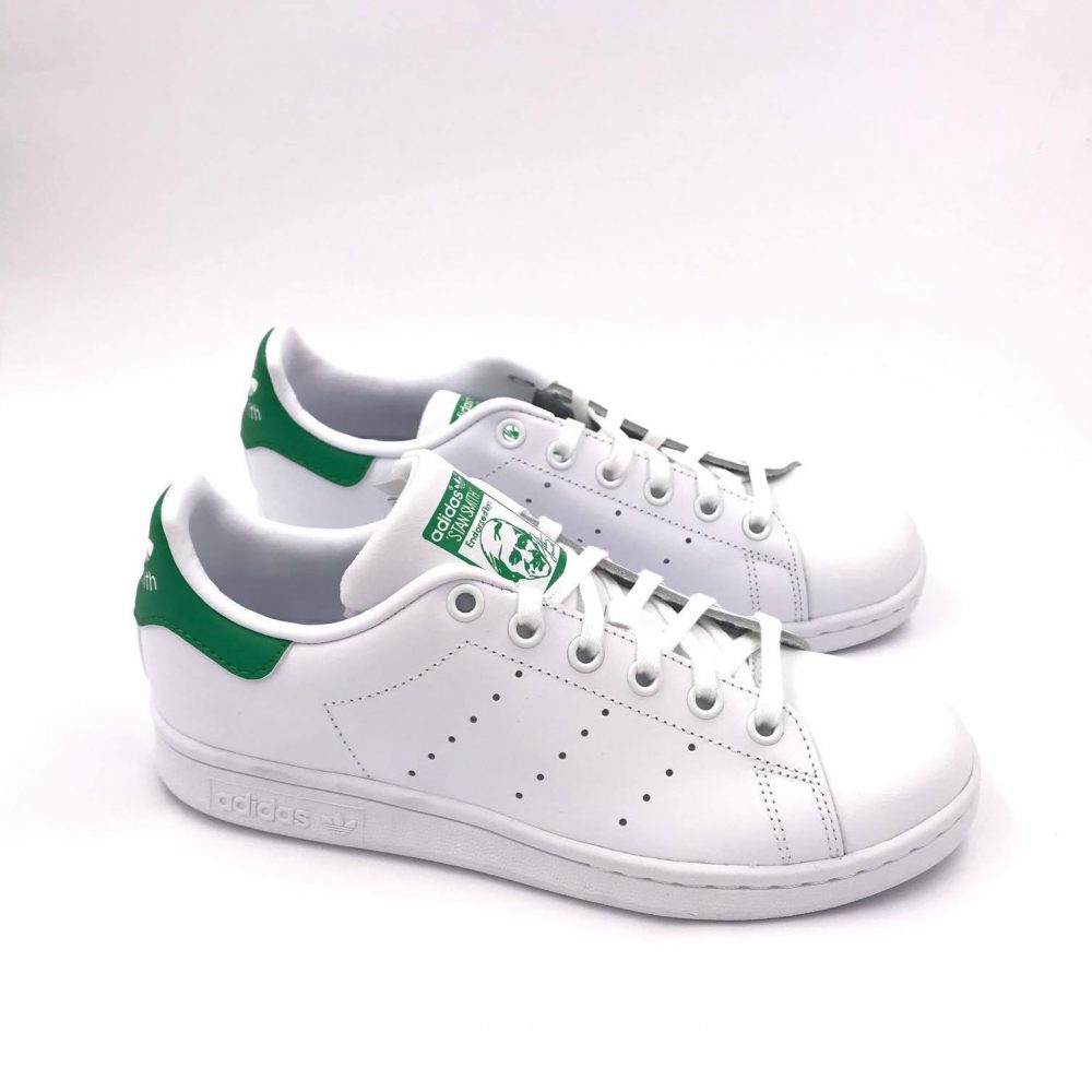 ADIDAS STAN SMITH M20605 WHITE/GREEN ( DAL 36 AL 38.5 )