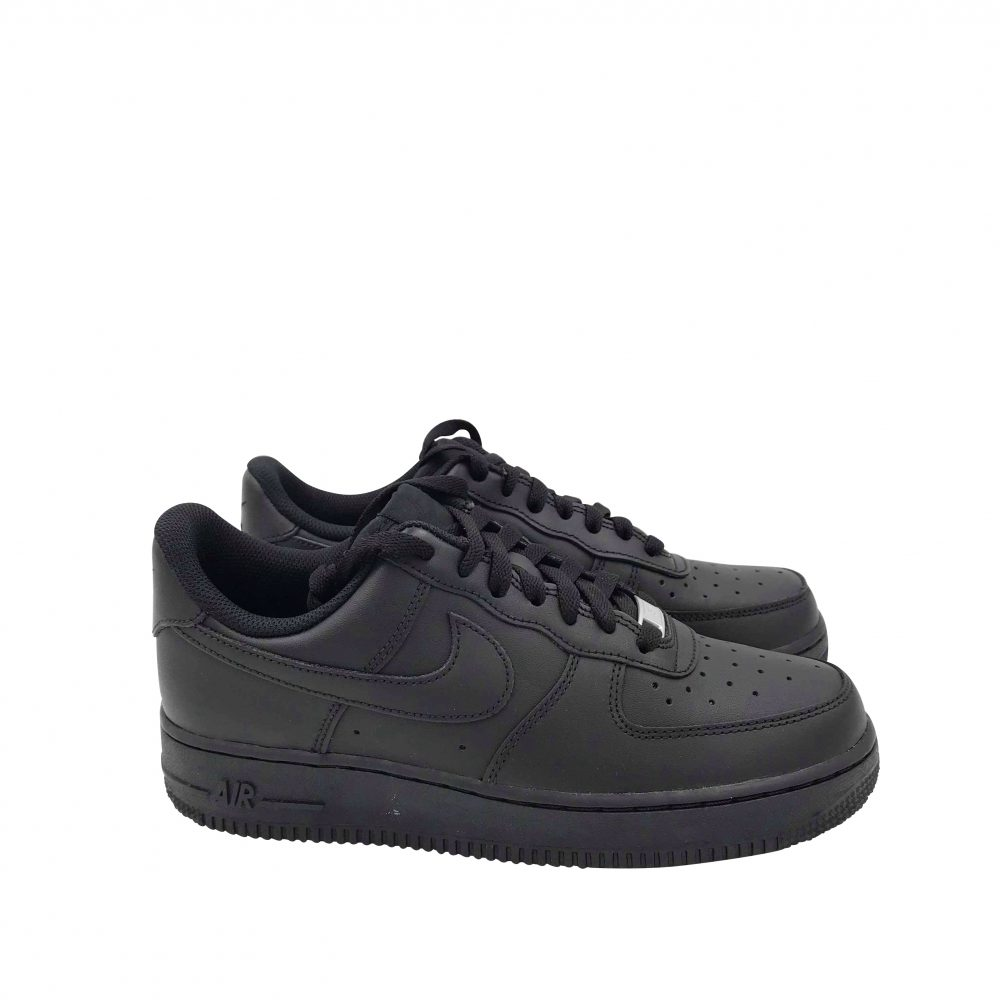 NIKE AIR FORCE 1'07 315122 001 TOTAL BLACK