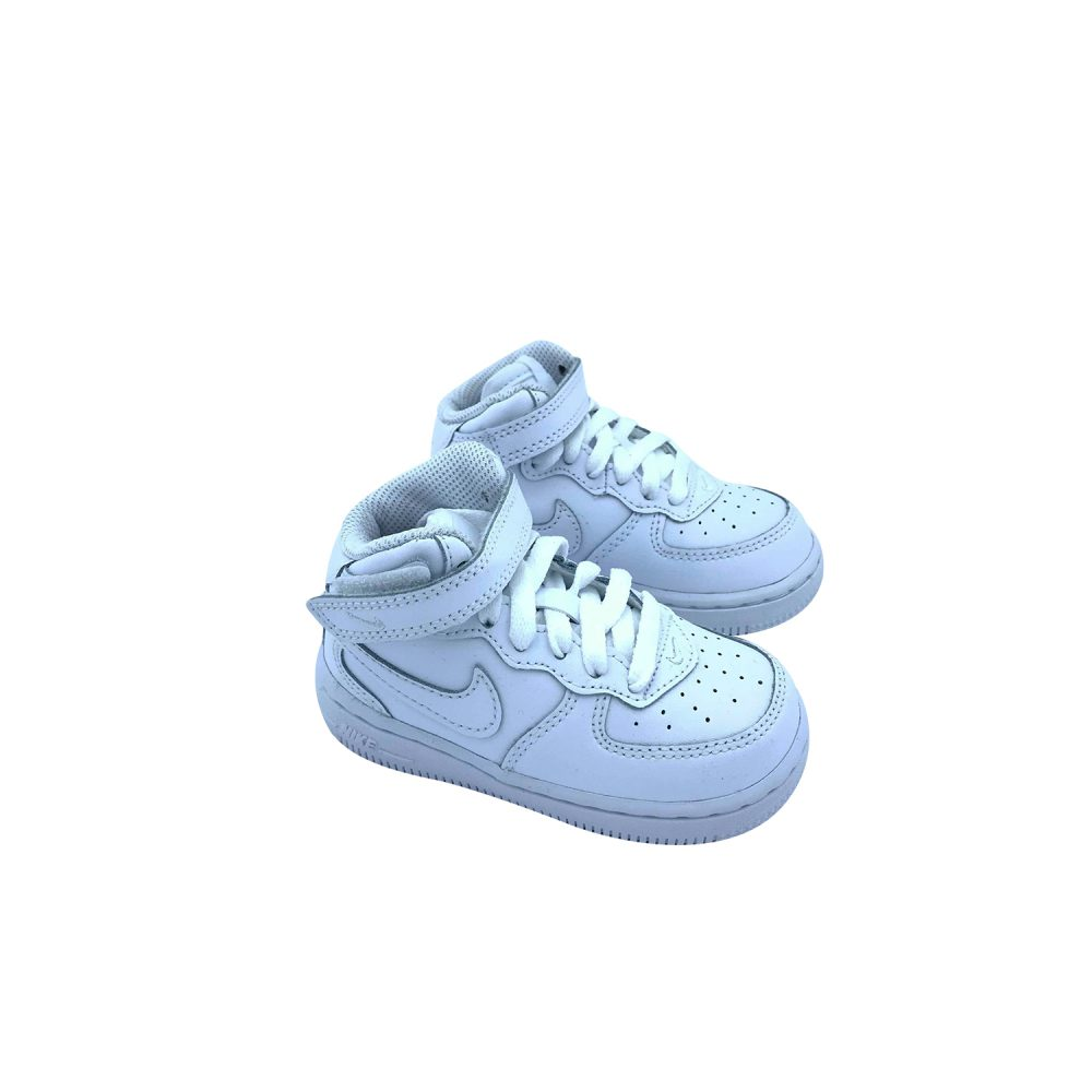 NIKE AIR FORCE 1 MID BABY 314196 113 WHITE ( DAL 28 AL 35 )