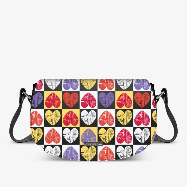 ALVIERO RODRIGUEZ AIDA BAG INTERNATIONAL LOVE