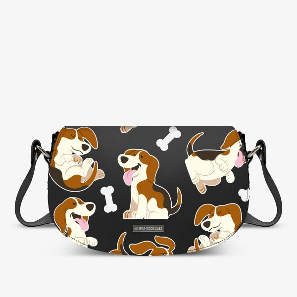 ALVIERO RODRIGUEZ AIDA BAG THE BEAGLES
