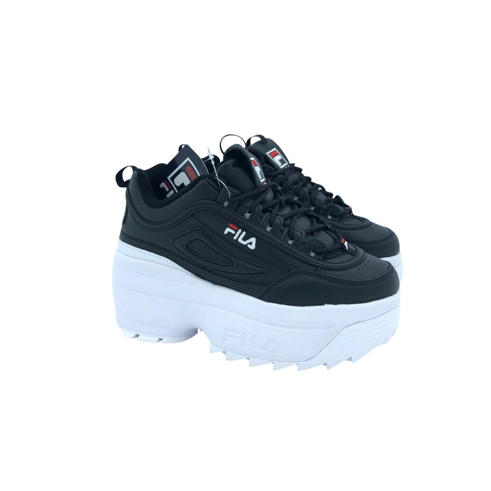FILA DISRUPTOR LI WEDGE WMN 5FM00704 BLACK/WHITE
