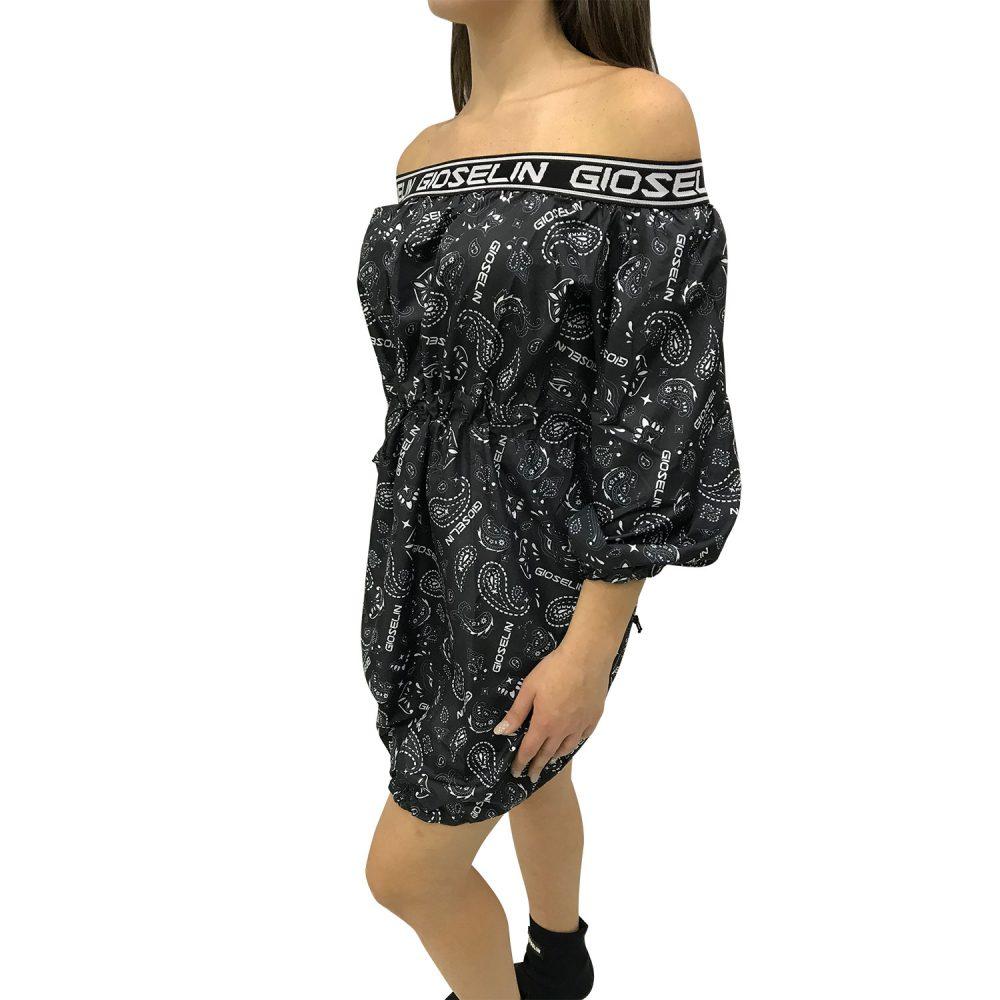 gioselin vestito bandana paisley