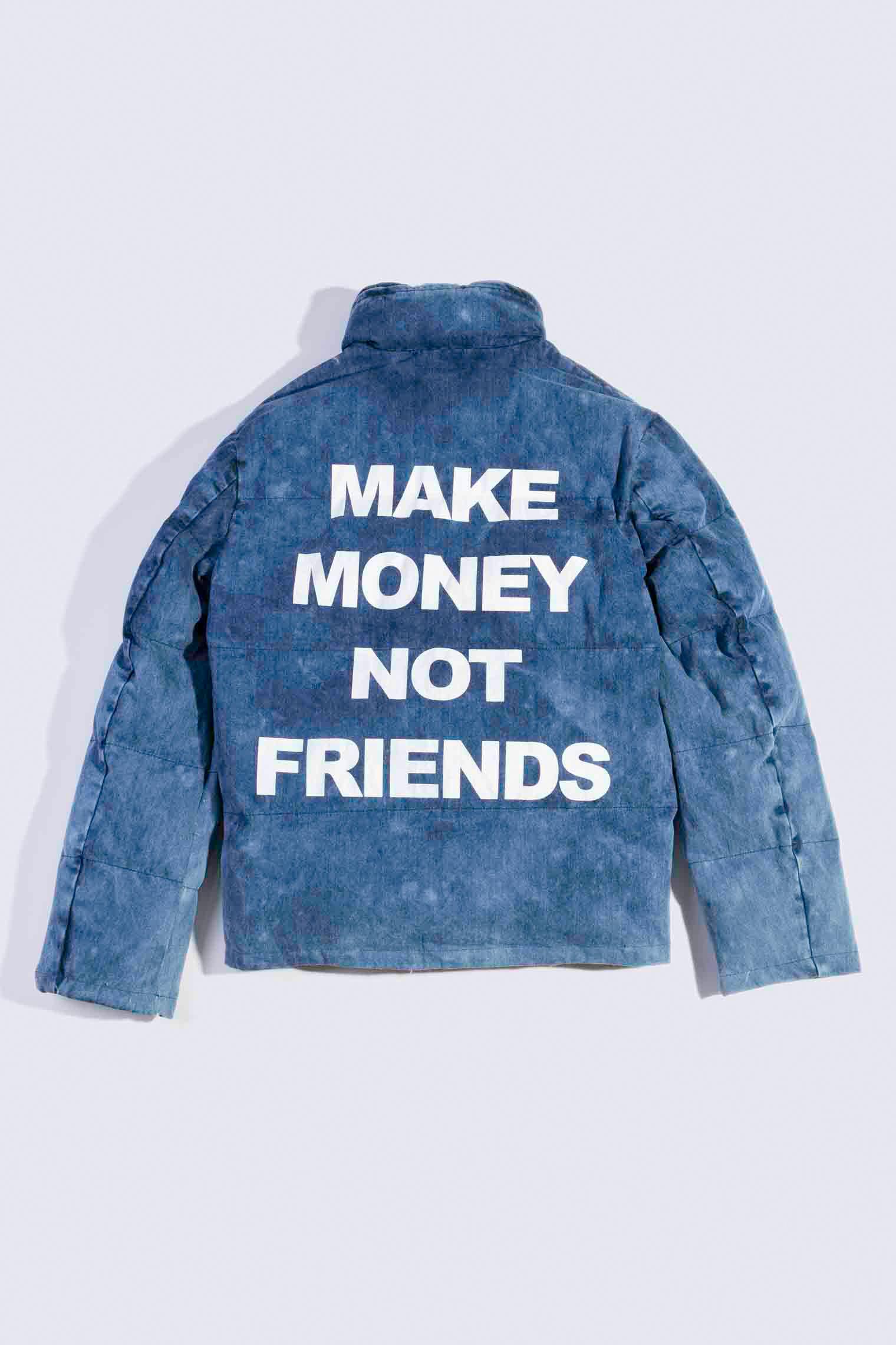 MAKE MONEY NOT FRIENDS GIUBBINO JEANS MU1108