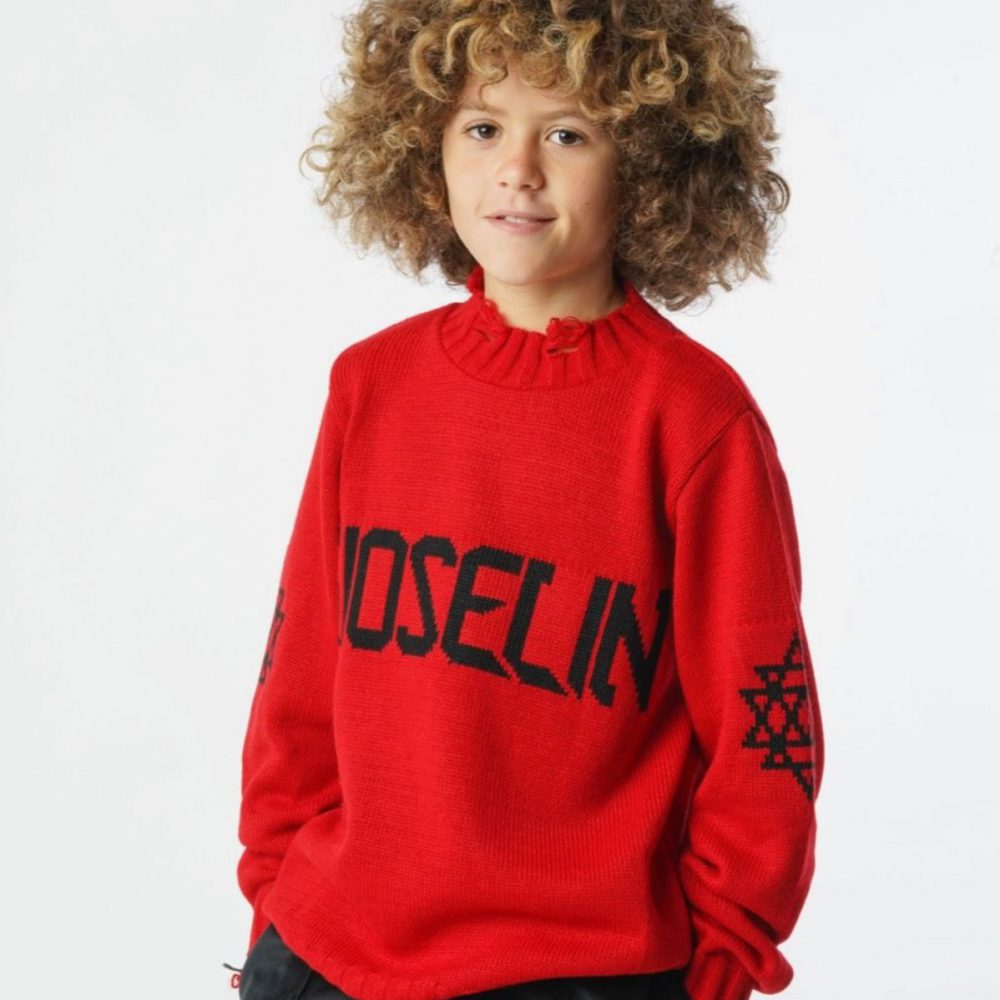 GIOSELIN WOOL BASIC ROSSO BABY