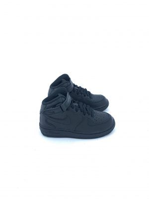 NIKE AIR FORCE 1 MID BABY 314196 004 BLACK ( DAL 28 AL 35 )