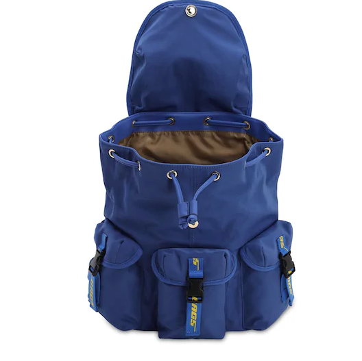 THE BAGS ZAINO IN NYLON BLU
