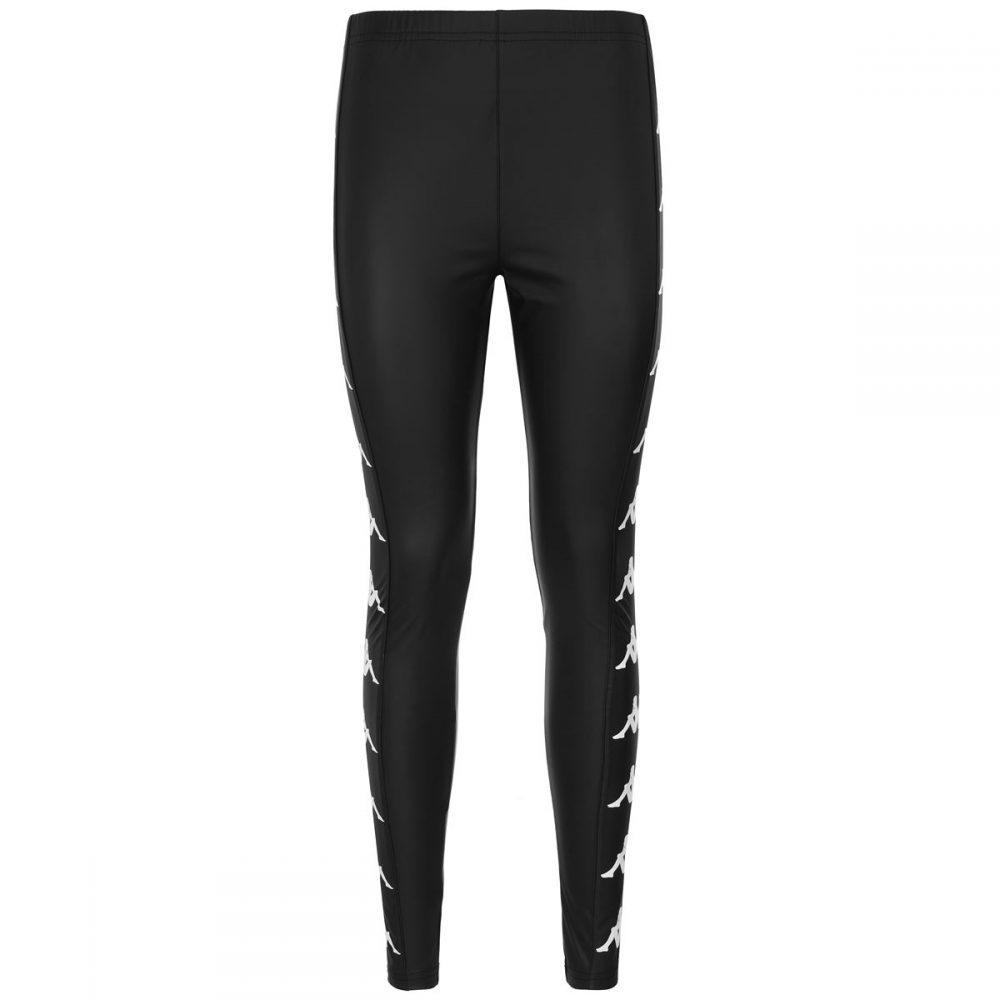 KAPPA LEGGINGS PELLE NERO 304NQ20