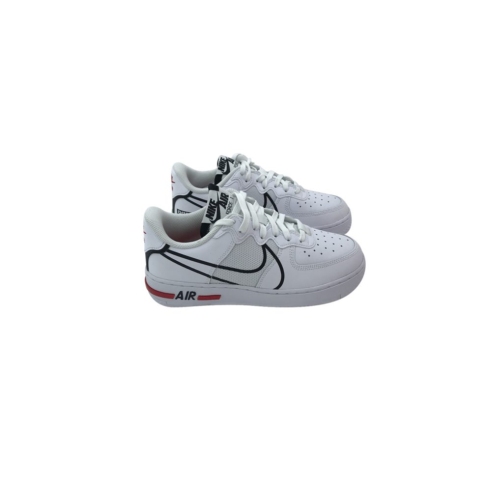 NIKE AIR FORCE 1 REACT (GS) CD6960 100
