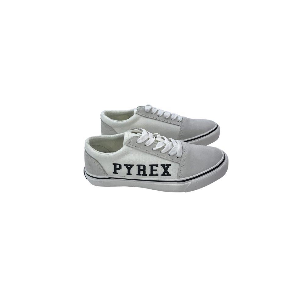 PYREX SNEAKERS BASSA IN TELA BIANCO PY020224 - 020201