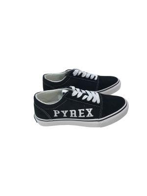 PYREX SNEAKERS BASSA IN TELA NERO PY020224 - 020201
