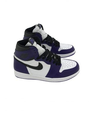 "JORDAN 1 RETRO HIGH OG ""COURT PURPLE"" 555088 500"