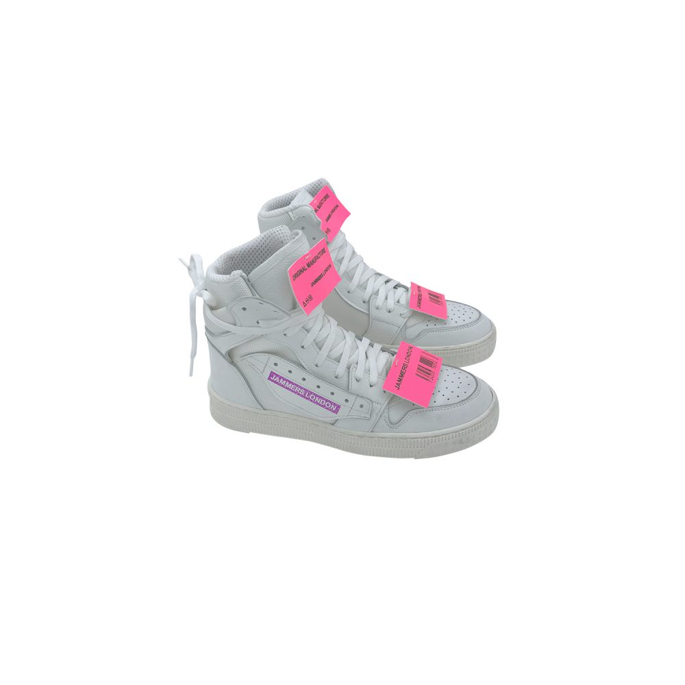 JAMMER LONDON OFF-CODE WHITE/PINK