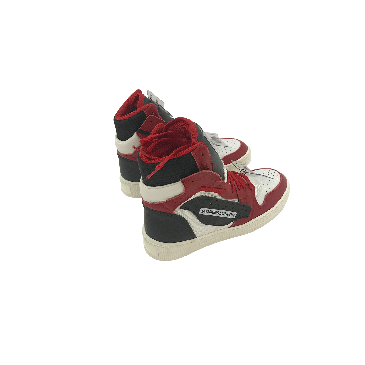 JAMMER LONDON OFF-CODE WHITE/RED/BLACK
