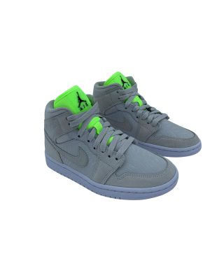 NIKE AIR JORDAN 1 MID VAST GREY CV3018 001