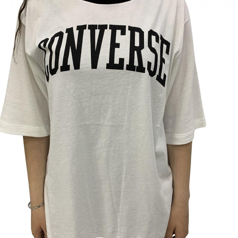 CONVERSE T-SHIRT BIANCA 10007399 A02