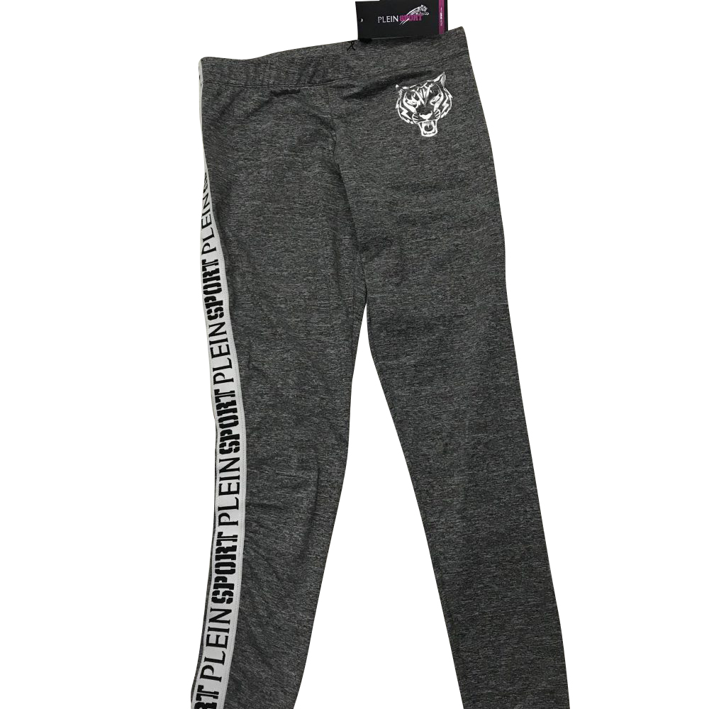 "PLEIN SPORT P18C WRT0393 LEGGINGS ""NEW RUN"" GREY"