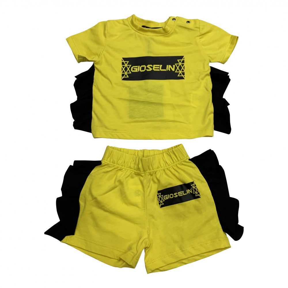 GIOSELIN COMPLETINO ROUGE GIALLO KIDS