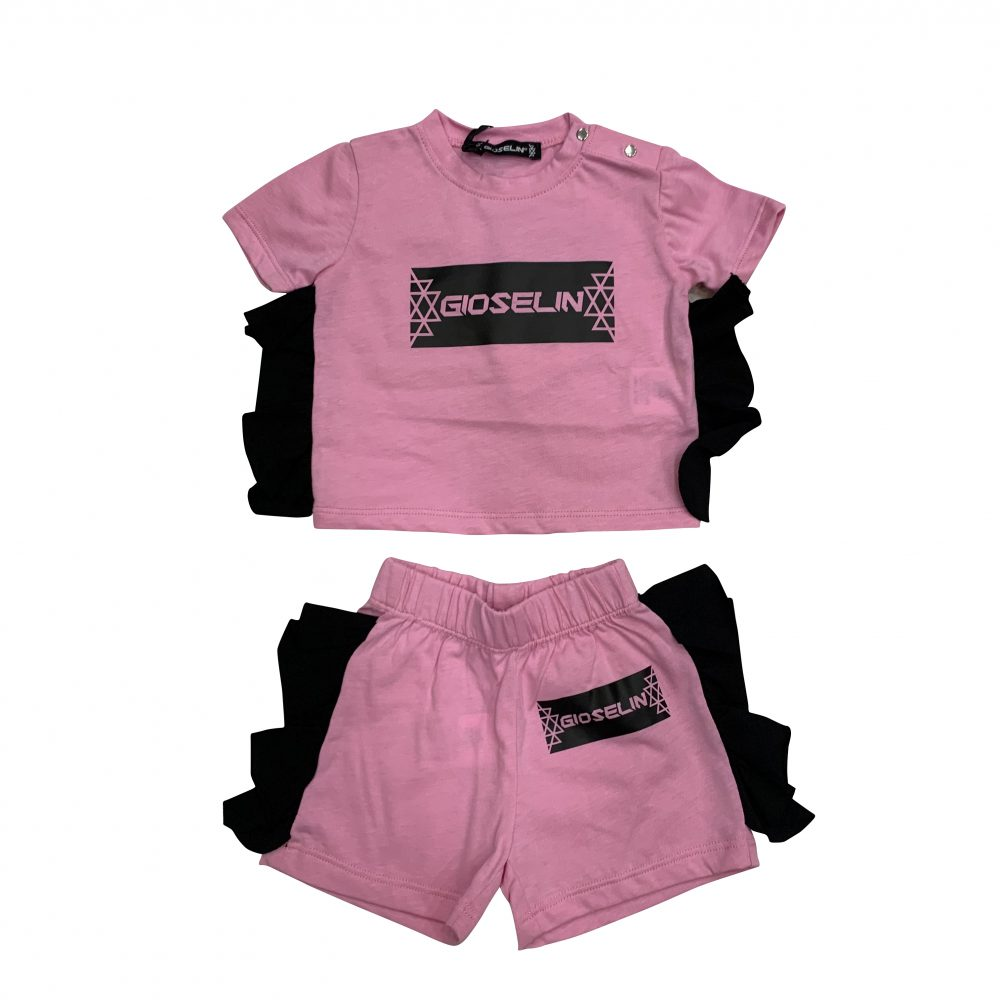 GIOSELIN COMPLETO ROUGE ROSA KIDS