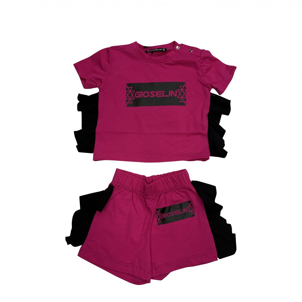 GIOSELIN COMPLETINO ROUGE FUXIA KIDS