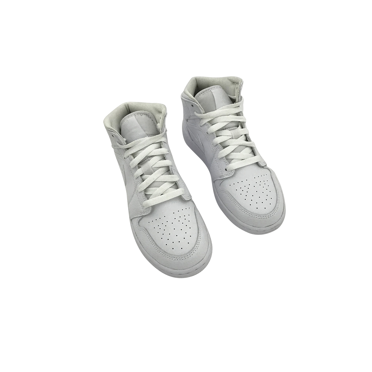 NIKE AIR JORDAN 1 MID WHITE 554725 130