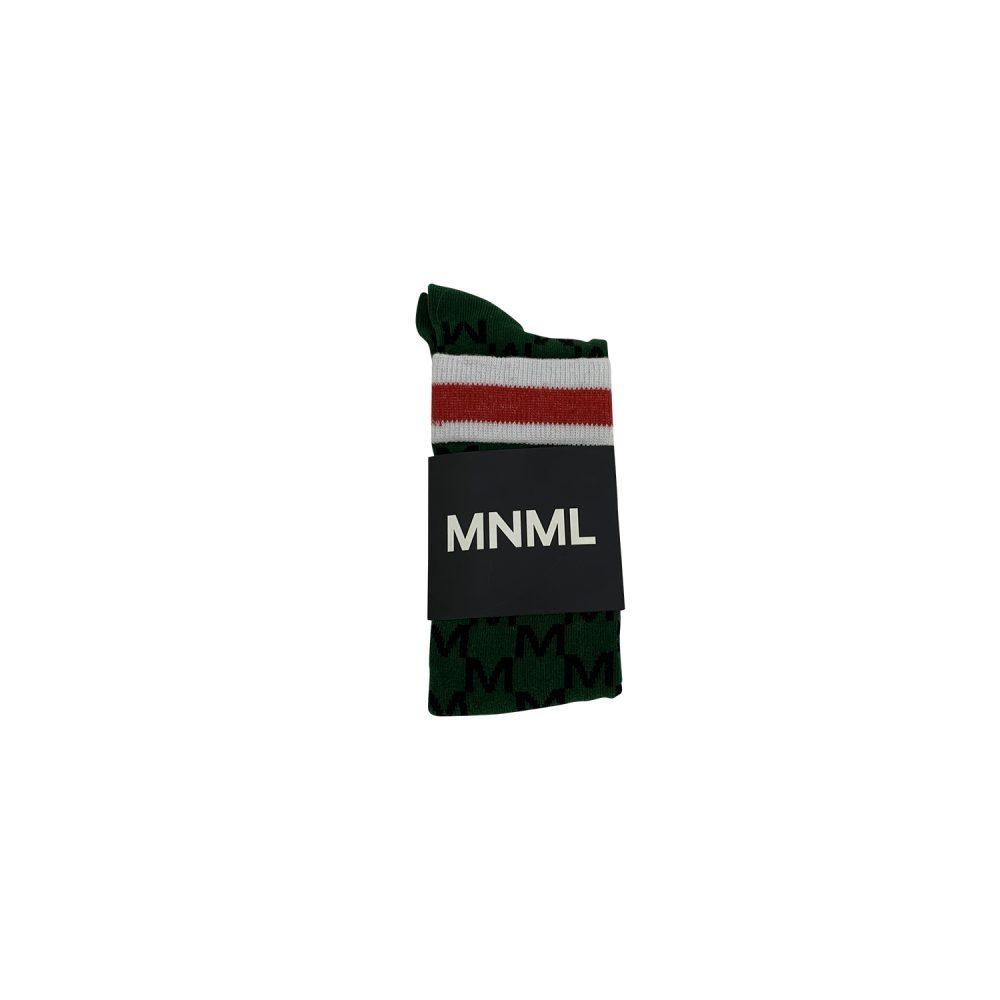 MNML CALZINO TRAMA M VERDE A.0485