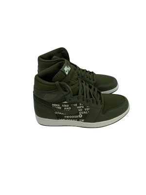 JORDAN 1 RETRO HIGH OLIVE CANVAS 555088 300