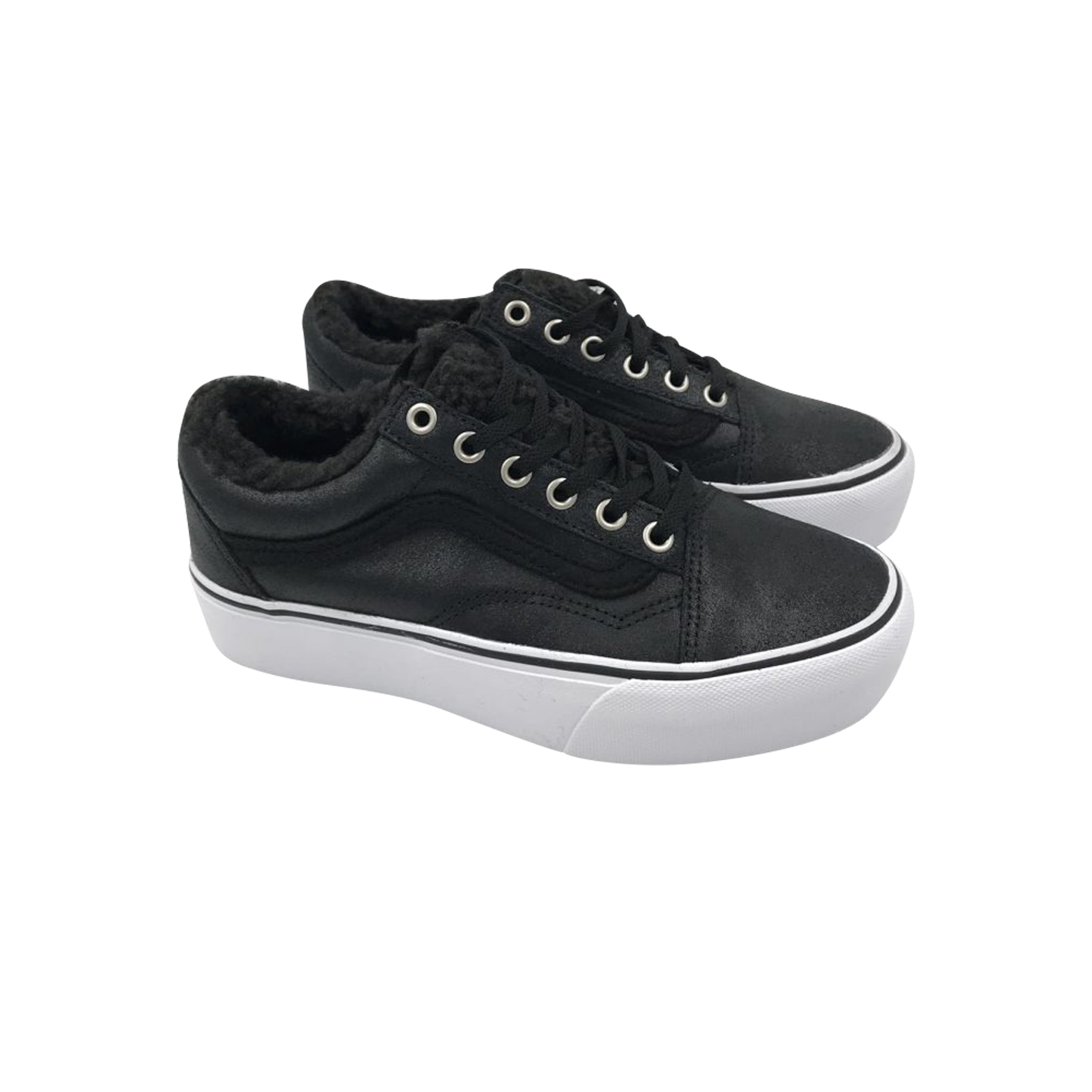 VANS OLD SKOOL PLATFORM BLACK