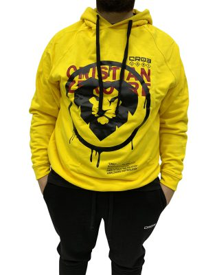 CR03 FELPA LION GIALLO