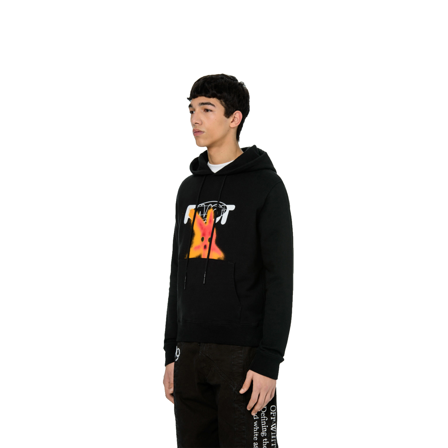 OFF WHITE FELPA PIVOT FISH