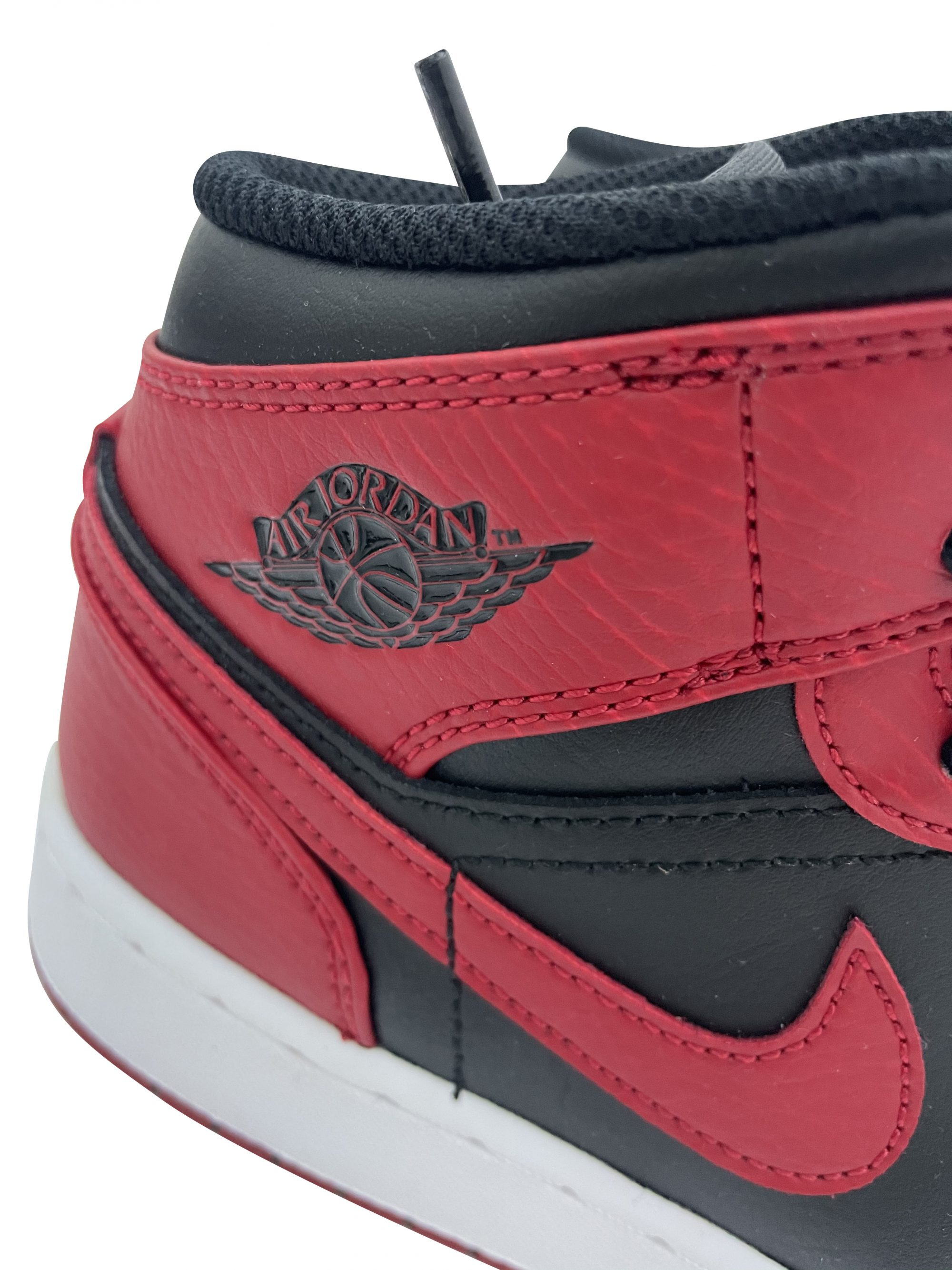 JORDAN 1 MID (GS) BANNED RED554725 074