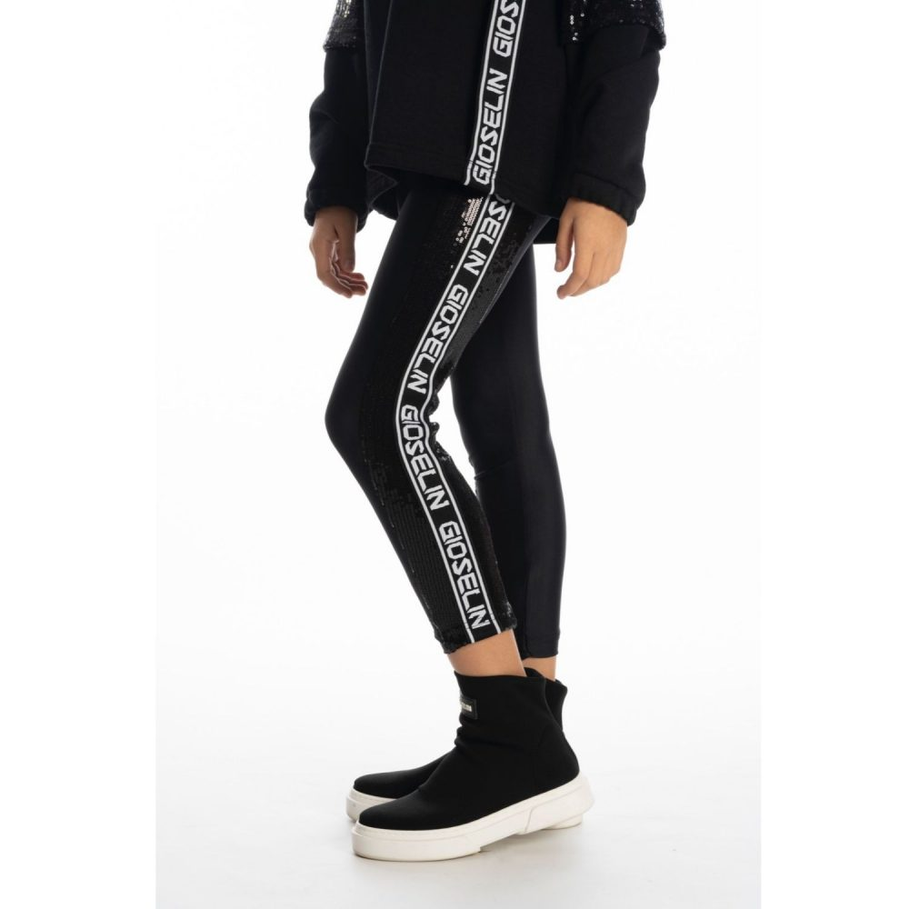 GIOSELIN LEGGINGS PAILLETTES BABY