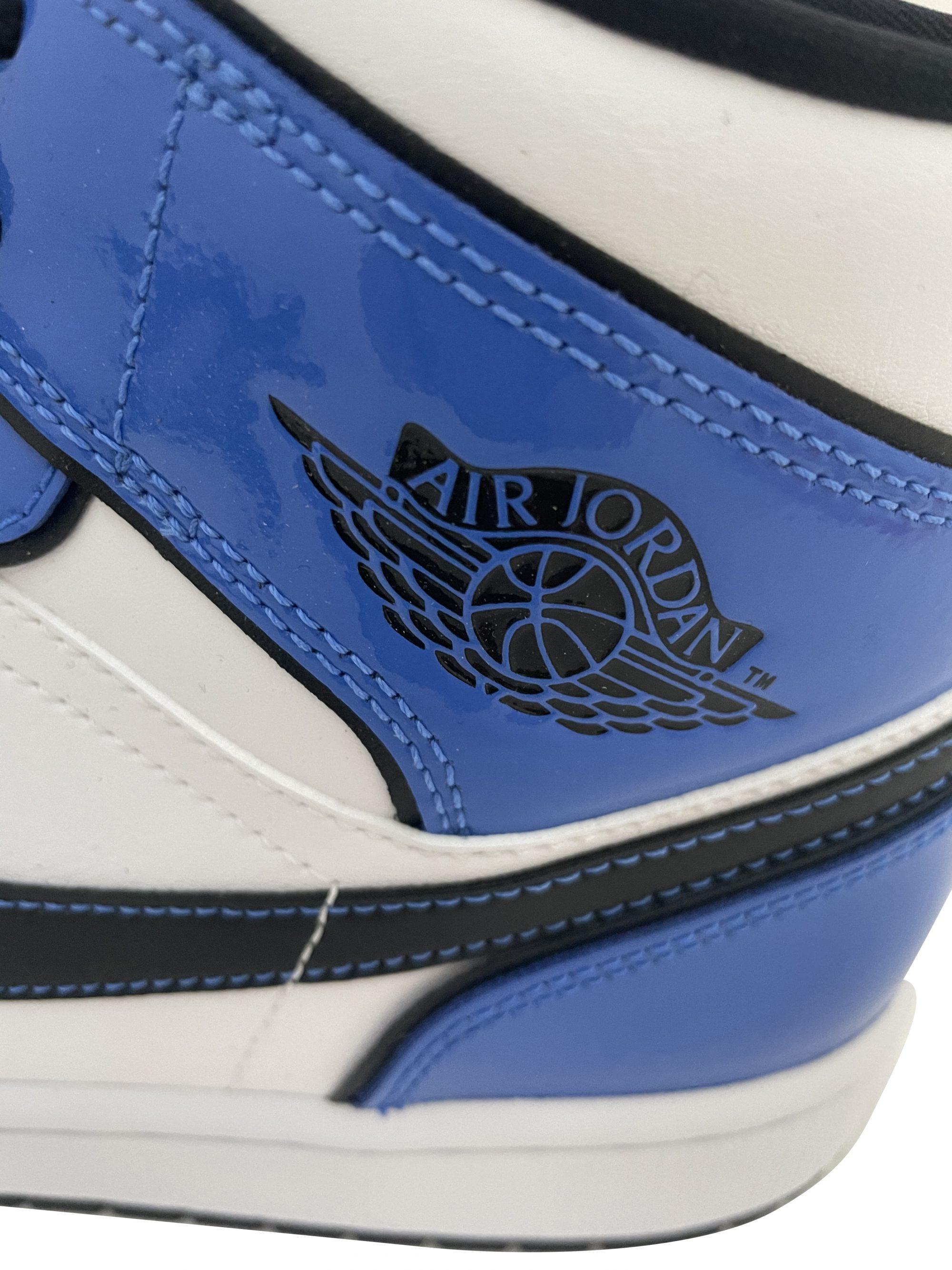 NIKE AIR JORDAN 1 MID SIGNAL BLUE DD6834 402