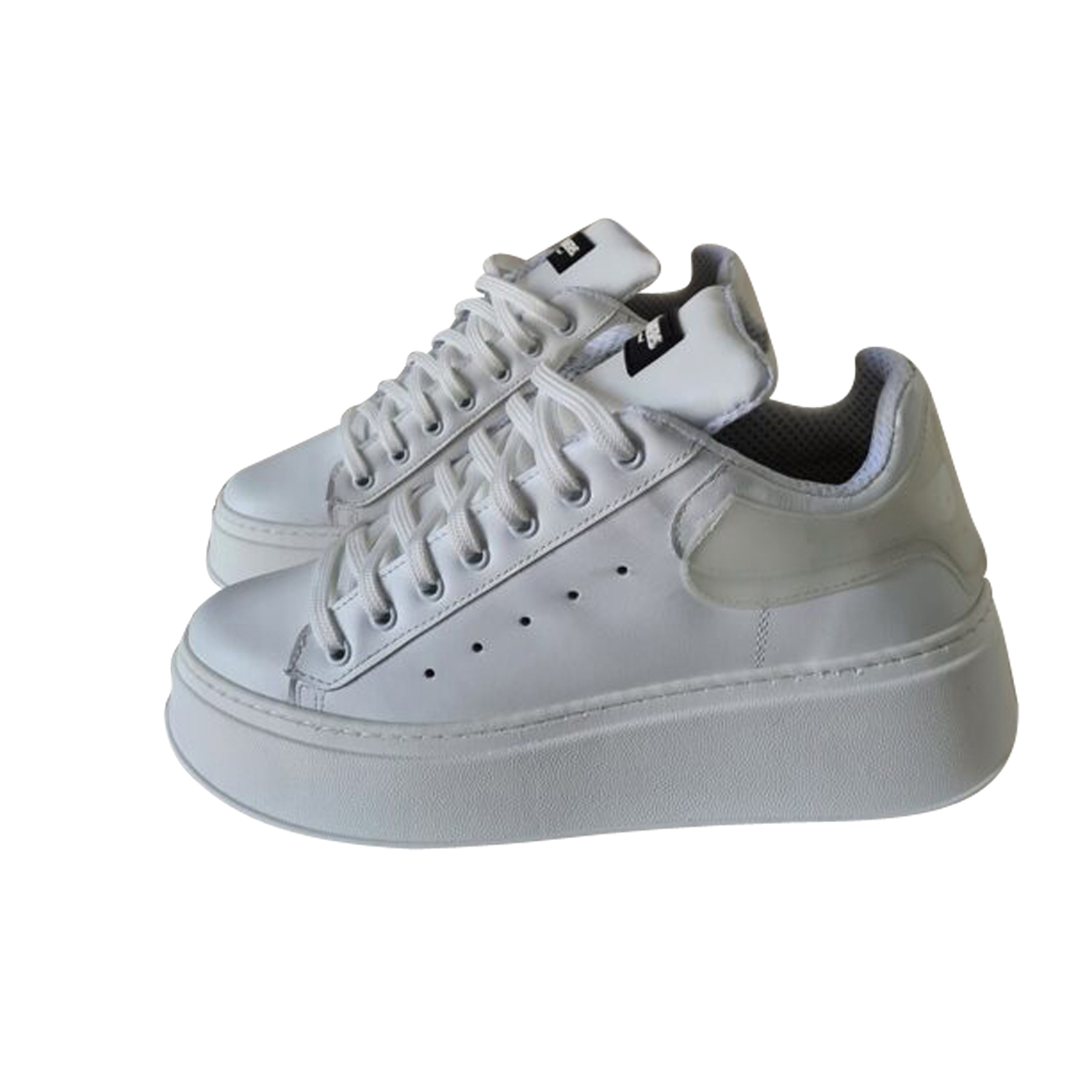 JAMMERS LONDON SNEAKERS TOTAL BIANCO