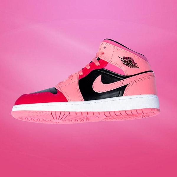 jordan nike rosa sneaker